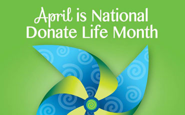 April Donate Life Month