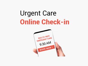urgent care checkin